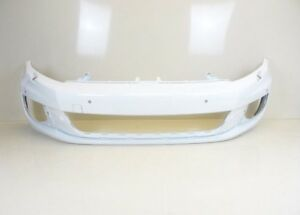 VW-Golf-MK6-GTI-GTD-New-White-Front-Bumper-With-Sensors-amp-Headlight-Wash-LB9A