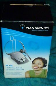 Plantronics S12 Hands-FreeTelephone Headset System for Corded Office Telephones