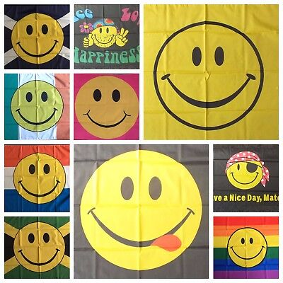 Peace Love /& Happiness Flag 5Ft X 3Ft 5X3/' Party Festival Decoration Banner