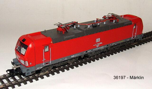"""Märklin 36197 Br 170"""" Db Schenker Rail """" Mfx Sound Metal # Nuevo en Emb. Orig. #"""