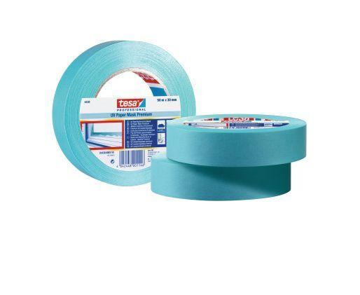 10 x Tesa® Tesakrepp® 4438 UV Oberflächenschutzband 30mm x 50m