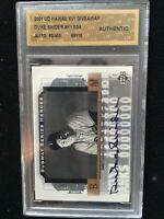 Duke Snider 2001 Brooklyn Dodgers Ud Subway Series Heroes Auto Card 450 Hawaii
