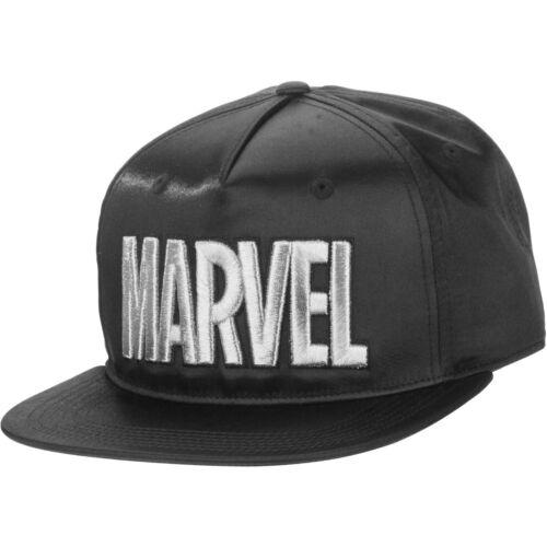MARVEL- Metallic Snapback baseball Cap- new with tags