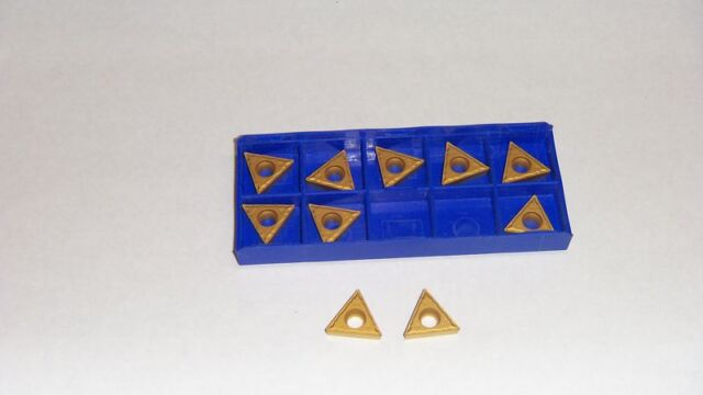 0.250 Groove Depth Cobra Carbide 46880 Solid Carbide Grooving Insert CM02 Grade Pack of 10 Notched Style