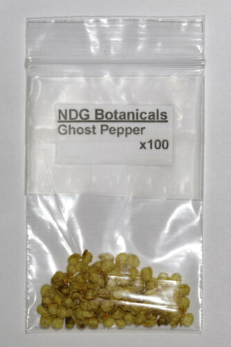 C Extremely Hot frutescens Ghost Pepper Bhut jolokia seeds chinense × C