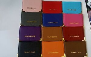 Oyster-Card-Travel-Card-Bus-Pass-Holder-Wallet-Railcard-Cover-Case-Many-Colors-S
