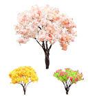 Home Sakura Tree Miniature House Garden Decoration Pots Fairy Ornament 3 Colors