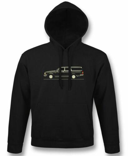 hoodie sweatshirt Classic tshirt for volvo 240 gl estate station wagon fans
