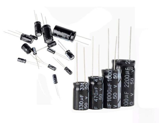 10 PEZZI Condensatori elettrolitici 330uF 16V 105°