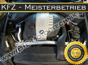 BMW-E71-E72-3-0D-X6-xDRIVE35d-210KW-286PS-M57D30TU2-MOTORUBERHOLUNG-REPARATUR