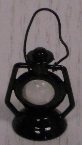 Laterne Maßstab 1:12 schwarz Miniatur f.d Puppenstube//Puppenhaus  #02#