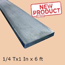 Stainless Steel Flat Bar Stock 14 X 1 X 6 Ft Rectangular 304 Mill Finish New