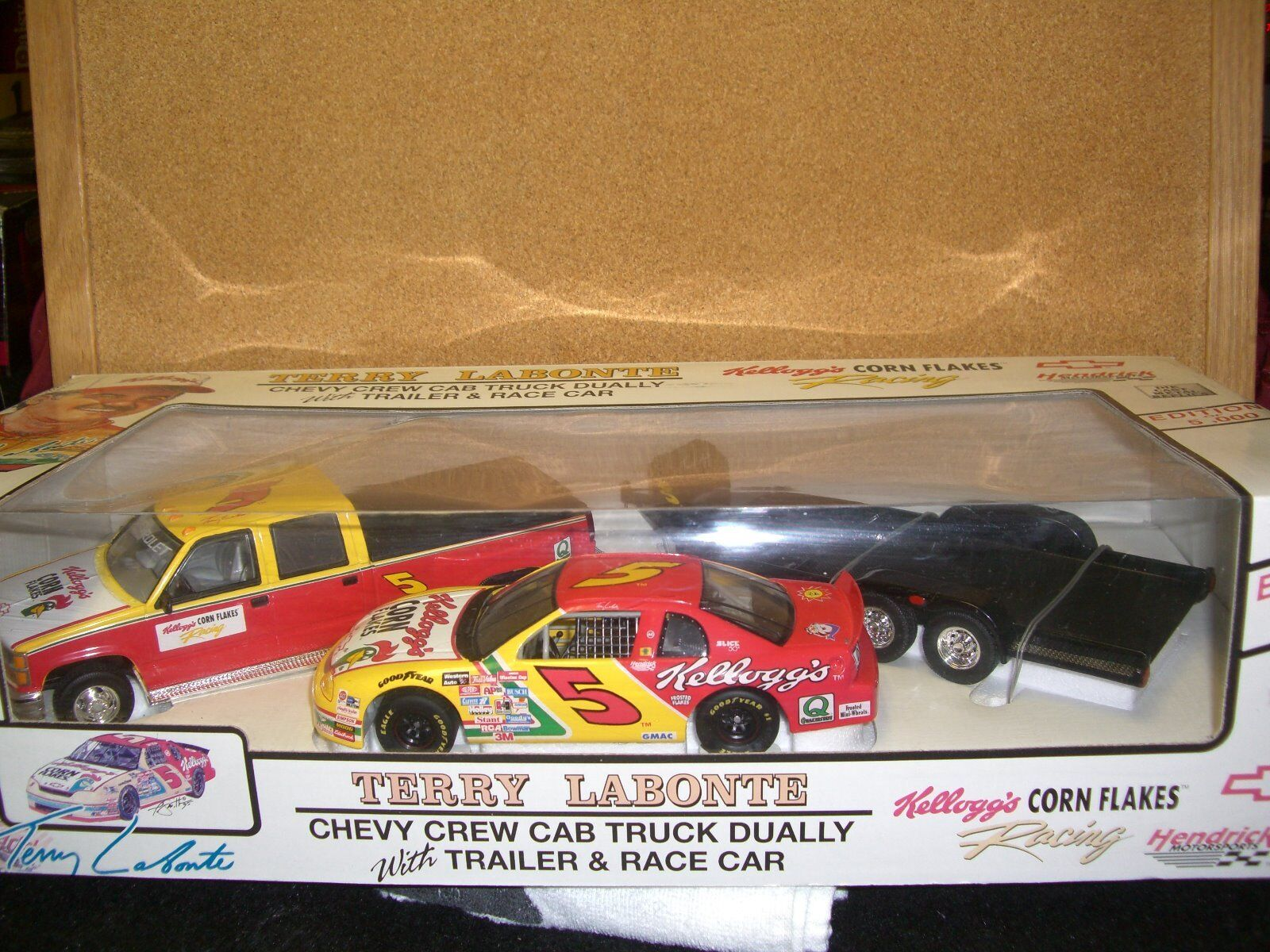 1 24 Brookfield Trackside Conjunto de  5 Terry Labonte 1996 Kelloggs