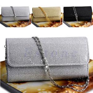 Women-039-s-Evening-Shoulder-Bag-Bridal-Clutch-Party-Prom-Wedding-Envelope-Handbag