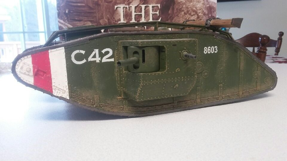 King and Country FW049 British Mark IV Heavy Tank Retired