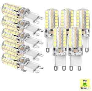 10x-G9-Led-5W-8W-48-64-72smds-Energy-Saving-Capsule-Bulbs-Spot-Lights-220-240V