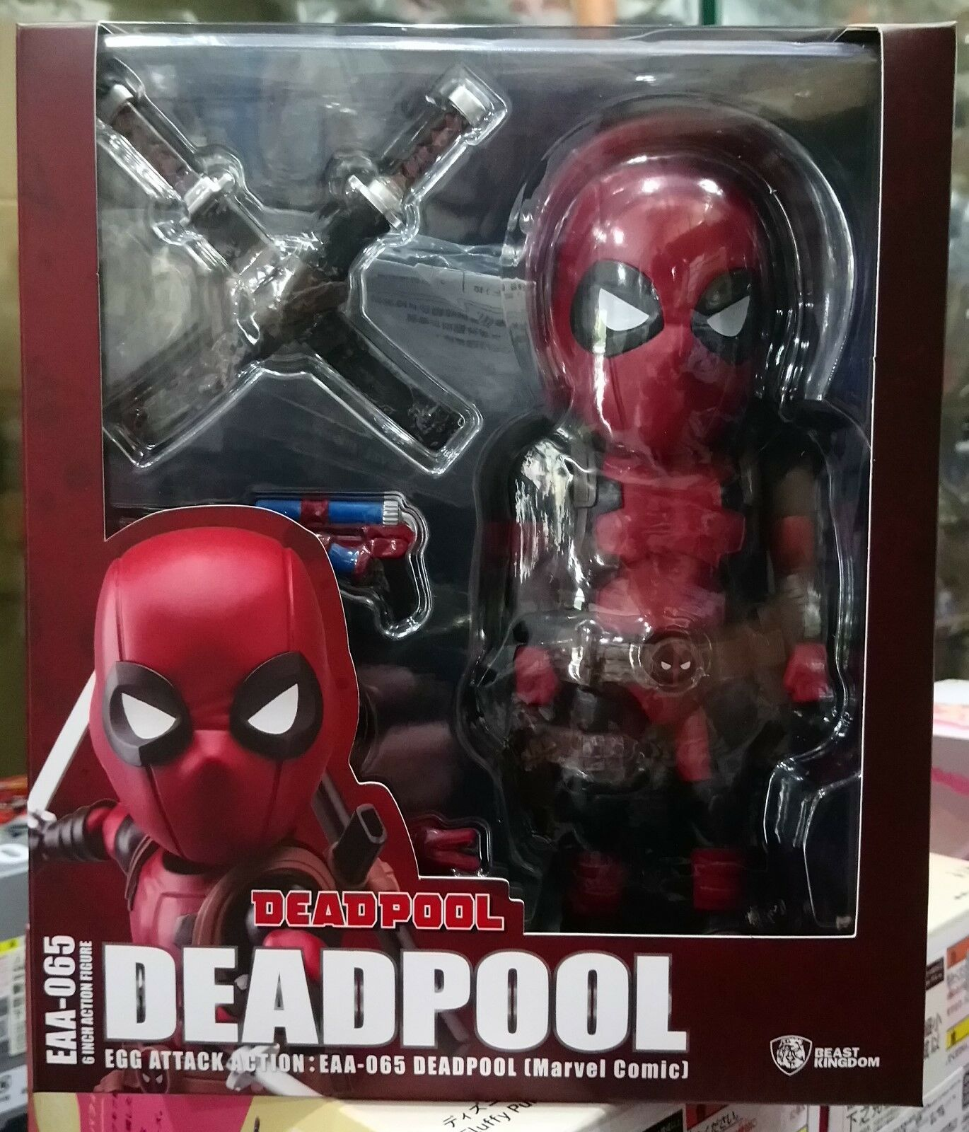 Beast Kingdom Egg Attack EAA-065 Deadpool Comic Ver. action figure in stock