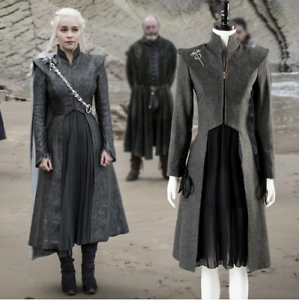 Game of Thrones Season 7 Daenerys Targaryen Cosplay Costume