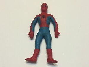 1973-Vintage-Mego-Spiderman-Rubber-Bendy-Action-Figure