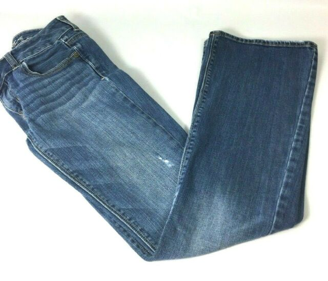 American Eagle Artist Jeans Womens Size 2 Distressed Medium Wash  E