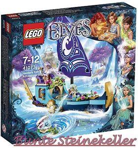 Lego® Elves: 41073 Naidas Adventure Ship & 0.- € Ovp Nouveau Misb!