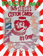 Cotton Candy Flavor Mix Sugar Flavoring Flossine Fairy Floss Flavored 1 Packet