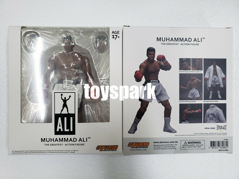 STORM COLLECTIBLES MUHAMMAD ALI 1 12 Boxing Heavyweight Champion action figure