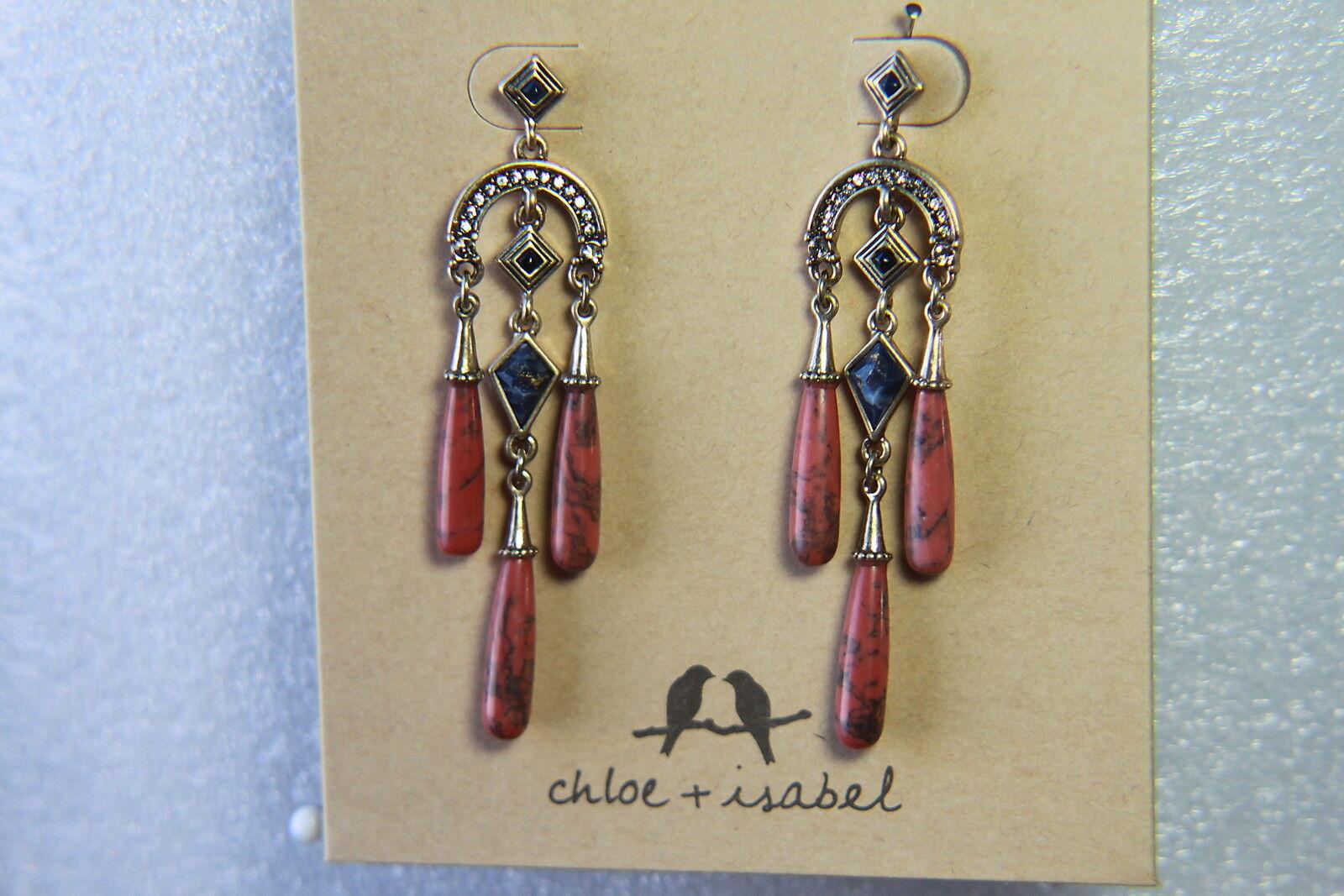 Chloe & Isabel Jewlery Earrings (new) SUNLIT SAVANNA STATEMENT EARRI (E455CRAG)