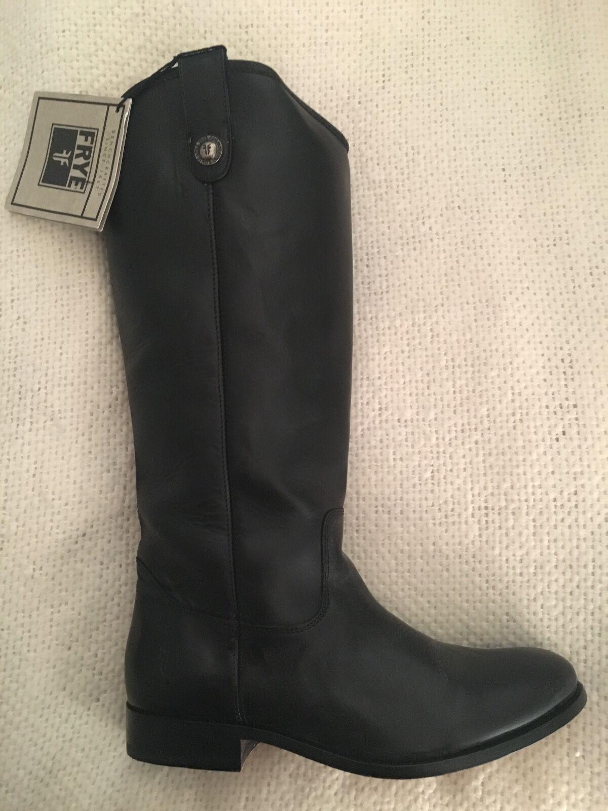 Frye Black Melissa Button Wide Calf Calf Calf Boot a43b61