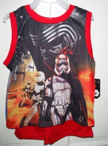 New Star Wars Boys Licensed 2 Piece Sleepwear Short Set