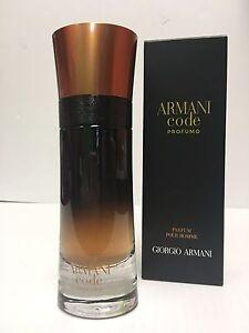 3e12b3e2f8 Armani Code PROFUMO Giorgio Armani Cologne Spray 2.0 OZ New TESTR ...