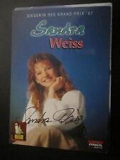 16180 Sandra Weiss Musik TV Film original signierte Autogrammkarte