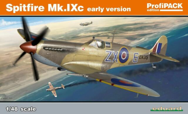 Eduard 8282 Profipack Edition 1:48th Scale Spitfire Mk. IXc early version