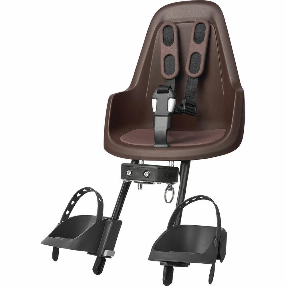Bobike asiento infantil one mini a partir de 9 meses hasta 3 J. Coffee marrón bicicleta