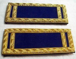 Civil-War-reenactors-ShoulderBoards-1st-LT-dark-blue-background