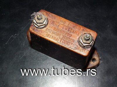 Capacitor Silver Mica 2400pF 0.0024uF500V 2/% Cornell Dubilier audio  q 10 pc