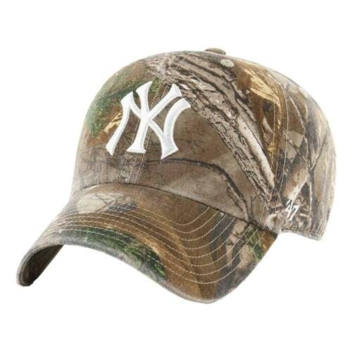 47 Brand Men/'s New York Yankees Real Tree Clean Up Cap Real Tree BNWT