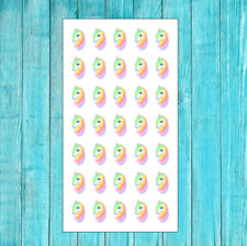 P1561 Hair Appointment Unicorn Planner Stickers