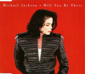 CD-MAXI-SINGLE-MICHAEL-JACKSON-WILL-YOU-BE-THERE-RARE-COLLECTOR-COMME-NEUF-1993
