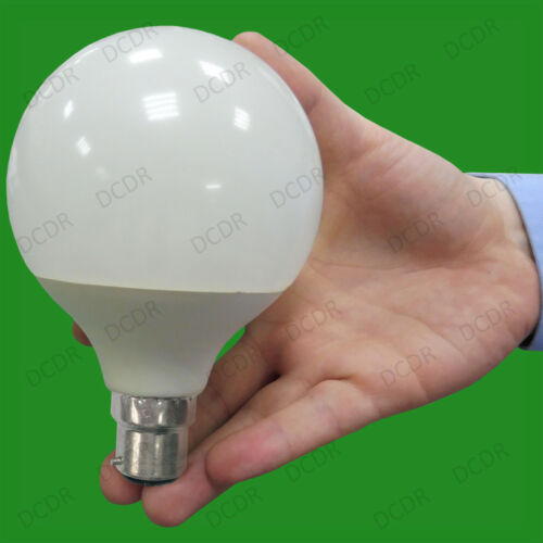 2x 15W LED G95 Decor 95mm Globe 3000K White BC B22 Light Bulb Lamp =100W