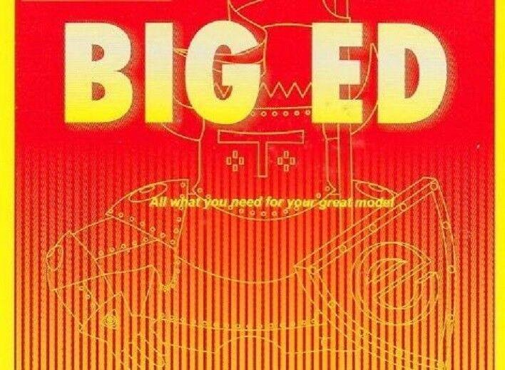 Eduard modellllerler 1  35 King Tiger Initial Big Detail Set för Takom kits
