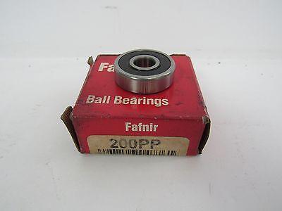 "Fafnir S9KDD Extra Small Double Shielded Ball Bearing 7//8/"" ID 1-7//8/"" OD NIB"