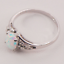 925-Sterling-Silver-White-Fire-Opal-Gemstone-Lady-Jewelry-Ring-Size-6-7-8-9-NEW thumbnail 3