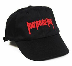 Purpose Tour 6 panel cap strapback dad hat Beiber ovo 6 god yeezus ... 7e47e1d8aaa