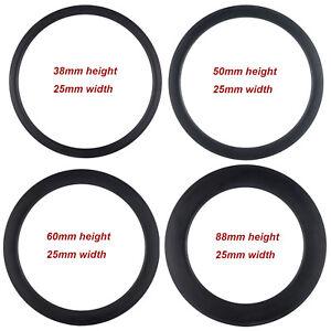 Clincher-Carbon-Rims-38-50-60-88mm-U-Shape-700C-Bike-Carbon-Rim-Tubular-Tubeless