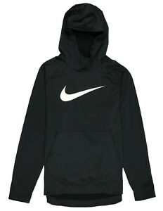 NIKE-Therma-Swoosh-Fleece-Pullover-Training-Hoodie-XL-X-Large-Black-Standard-Fit