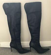 1bc4c36bf6a0 item 3 Womens Kurt Geiger Carvella Black Leather High Heel Boots Size 5 - Womens Kurt Geiger Carvella Black Leather High Heel Boots Size 5