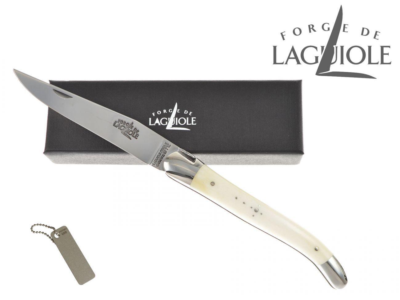 Forge de Laguiole couteau canif couteau pliant 11 cm jambe OS