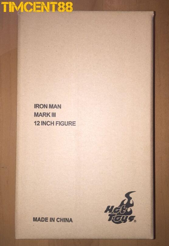 Ready  Hot Toys MMS256D07 Iron Man Mark 3 III Diecast 1 6 Normal Edition