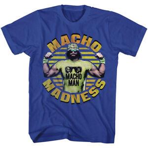 01e796023a25e Macho Man Randy Savage Wrestling T-Shirt 100% Licensed Macho Madness ...